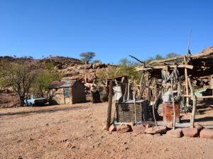 boeren Namibië, boerderij Namibië