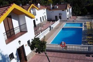 Los Pinos, hotel Sierra Morena met zwembad