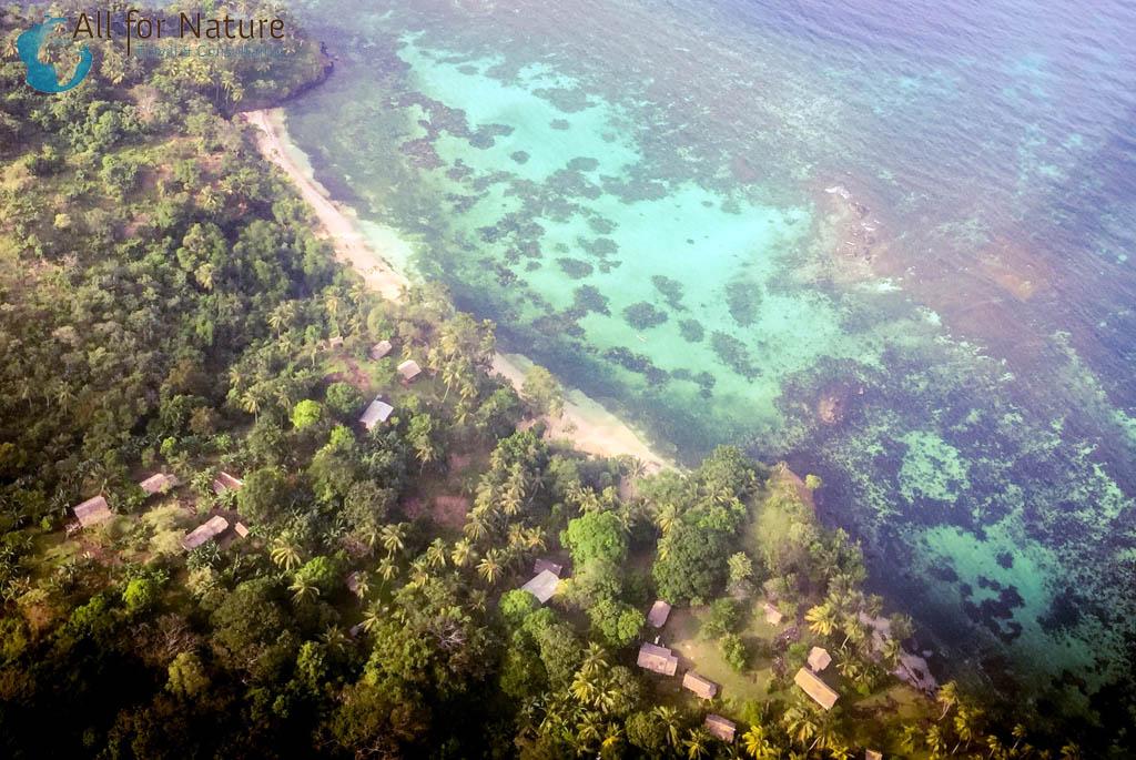 Tufi resort, vakantie Papoea-Nieuw-Guinea