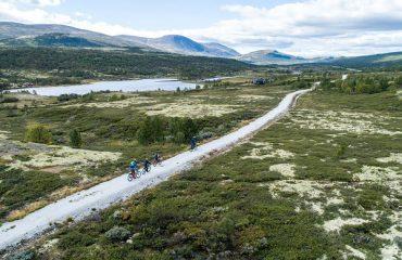 Met e- bike bij Dovrefjell