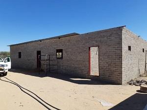 bouw school Namibie