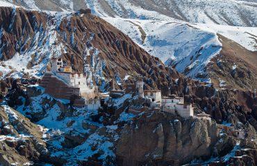 klooster in de bergen van Ladakh