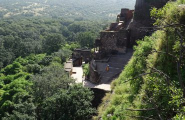 Ranthambore Fort in het groene seizoen ©All for Nature