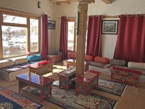 Snow Leopard lodge, lodge Ladakh