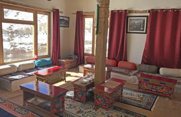 Snow Leopard Lodge, algemene ruimte