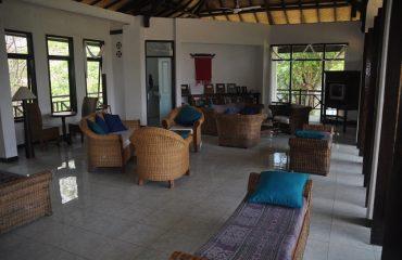 Komodo ecolodge library