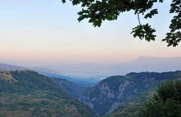 Uitzicht Abruzzo National Park