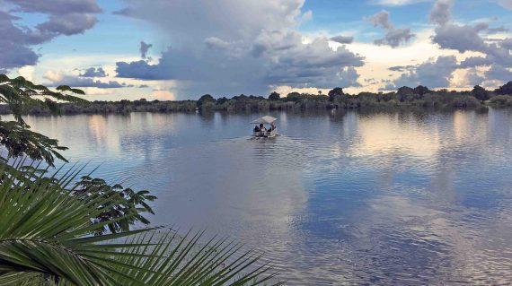 Boot op Kafuerivier
