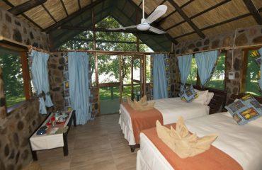 Mvuu tent Lower Zambezi NP