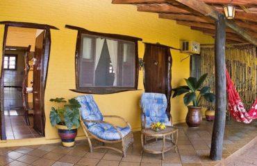 Araras Eco Lodge Veranda