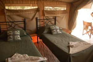 Kati Kati Tented Camp, safaritent Tanzania, Serengeti