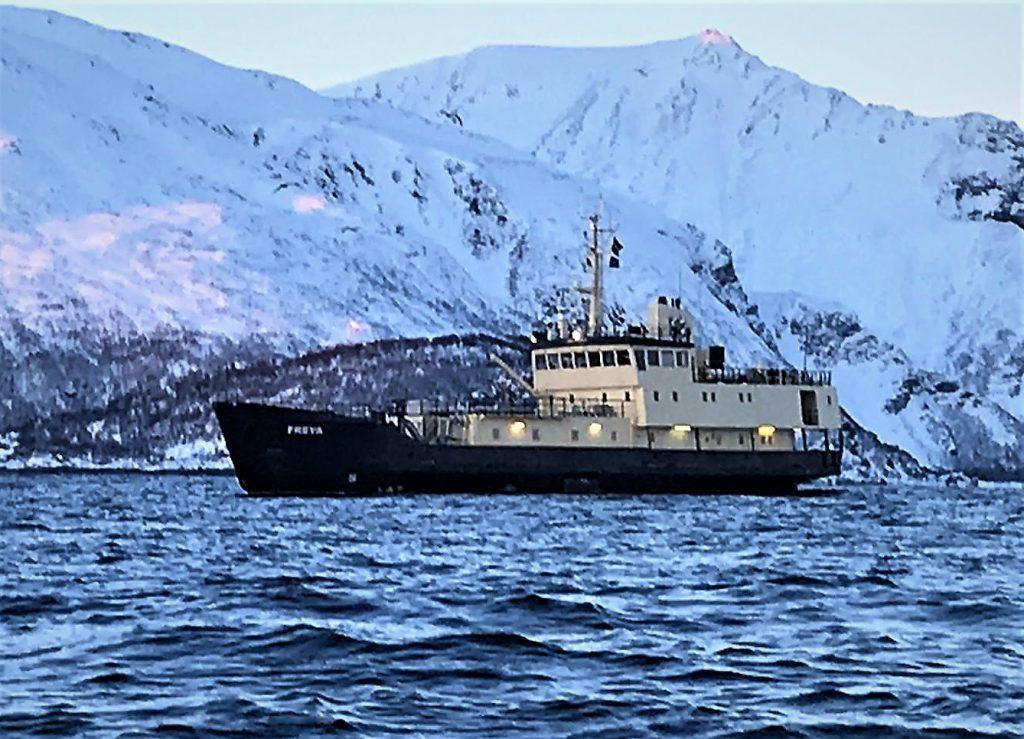Freya MV, Waterproof Expeditions, Orka reis