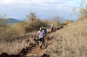 Galapagos walking