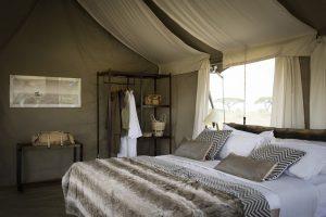 Namiri Plains Camp, luxe kamperen Tanzania