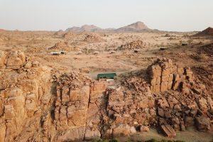 Ozondjou, Namibie