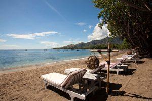 Taman Sari strand, kleinschalig hotel Bali