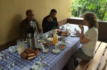 Ontbijt bij Julia's Homestay