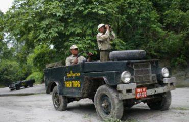 Chitwan jeep safari Tiger Tops