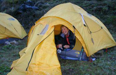 Nepal Princes trek sleeping in tents