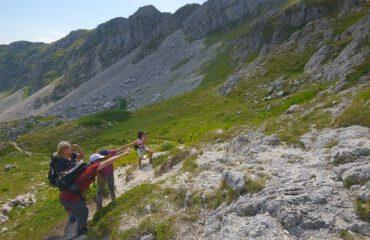 trekking Abruzzo berenreis ©Umberto