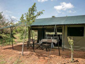 Basecamp Wilderness Camp, safaritent Kenia