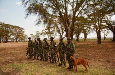 Dog Patrol Unit Lewa Conservancy