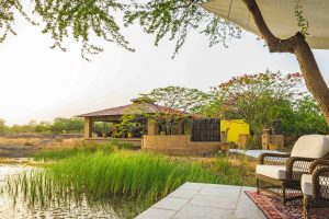 Black Buck Lodge_terras