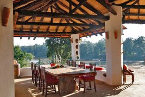 Flame of the Forest Lodge, hotel Kanha National Park