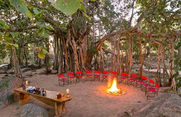 Jamtara Wilderness Camp_welkomstdrankje