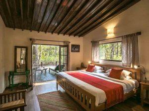 Kanha Jungle Lodge kamer, lodge Kanha National Park