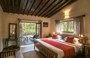 Kanha Jungle Lodge kamer