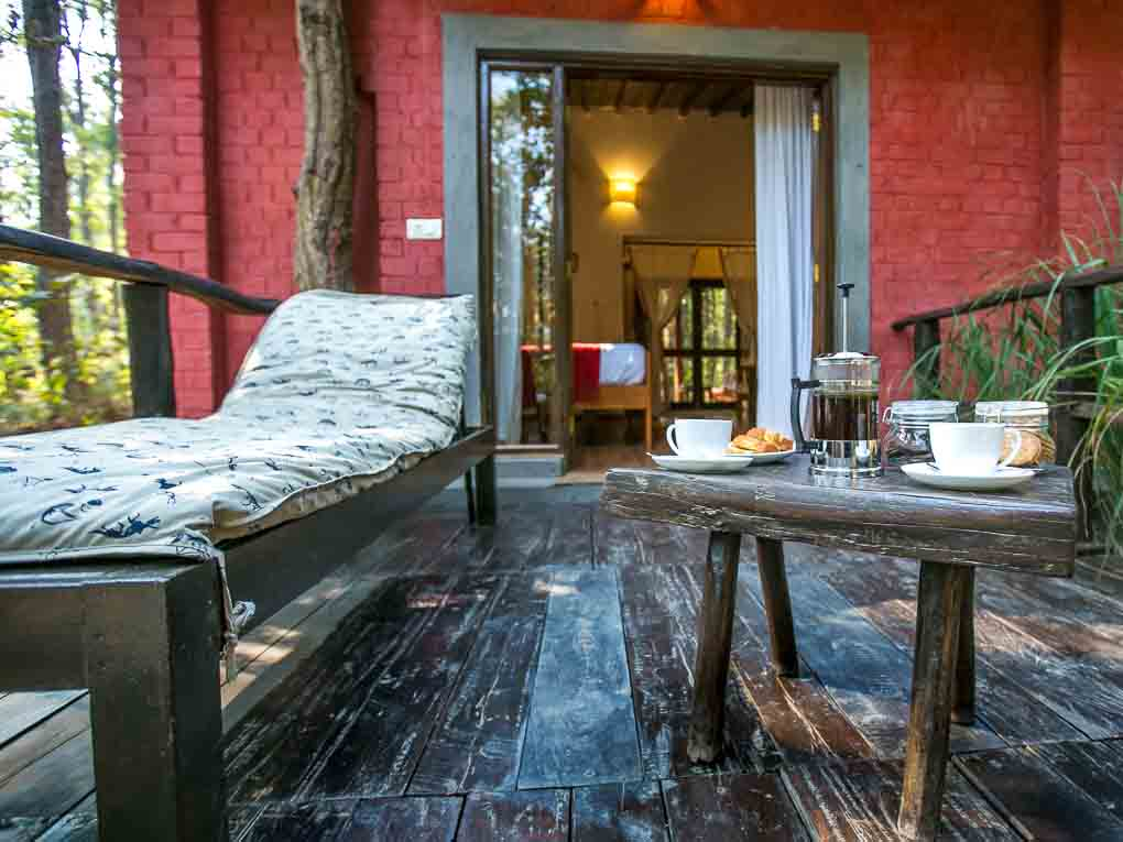 Kanha Jungle Lodge, tijgersafari hotel India