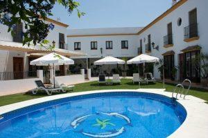 Hacienda Olontigo_zwembad, hotel met zwembad Coto Donana