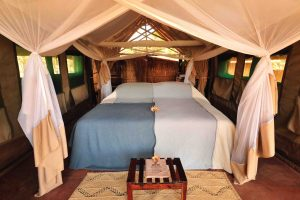 Kakuli Camp interior, South Luangwa