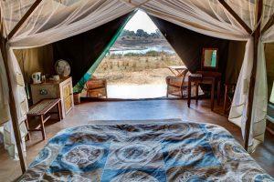 luxe kamperen op safari