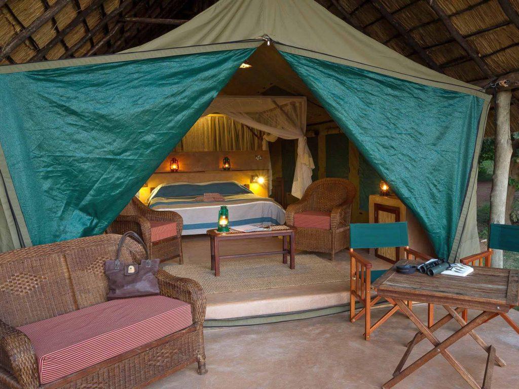 safaritent South Luangwa National Park, safari Zambia