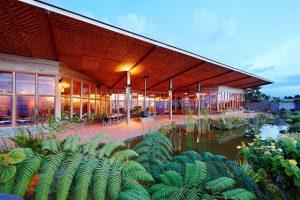Rondon Ridge Lodge, hotel Mount Hagen region. Papua New Guinea.