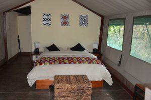 Ruzizi Tented Lodge, safaritent Rwanda, lodgetent Ruanda