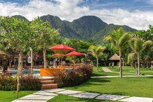 Hotel Taman Sari, duurzame lodge Bali