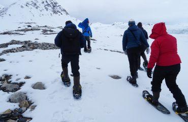 gletsjer wandeling