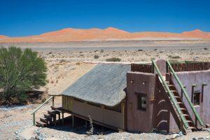 Kulala Desert Lodge, lodge Namibië
