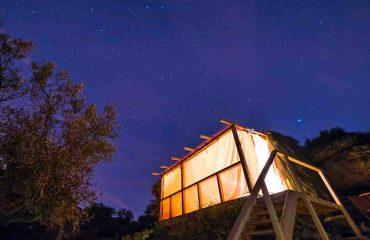 Starcamp Faia Brava bij nacht