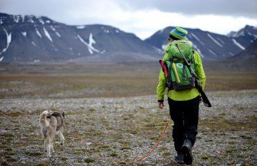 Hiking Spitsbergen