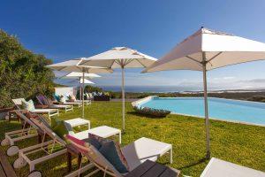 Zwembad bij Grootbos Lodge, hotel Zuid-Afrika