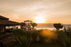Virunga Lodge met uitzicht