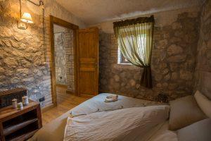 schuilhut, refuge, abruzzo double room prive