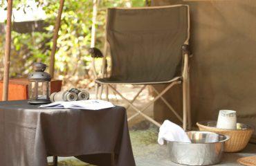 Mahoora Tented Camp veranda