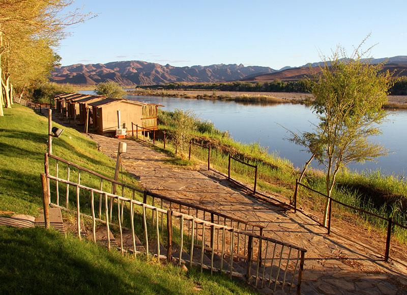 Norotshama River Resort, reis oranjerivier