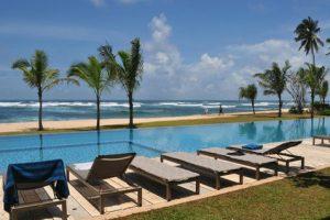 Sri Sharavi Villa's & Spa, Mirissa boetiekhotel, Sri Lanka blauwe vinvis