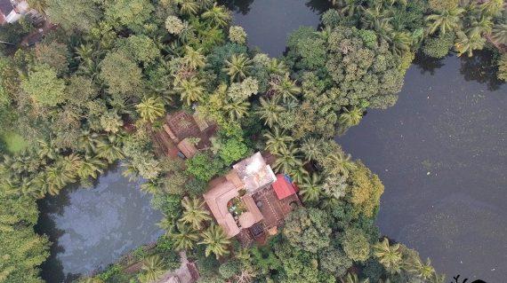 Baghrol Basa luchtfoto
